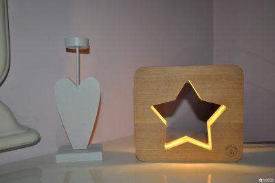 Светодиодный ночник из дерева Creative Light Dream Land «Звезда»
