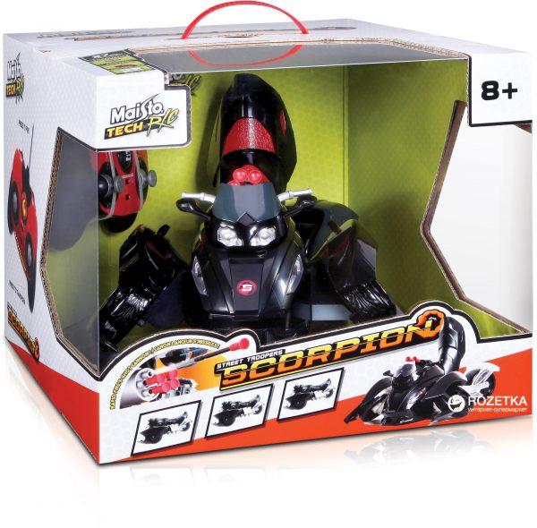Автомодель-трансформер на р/у Maisto Tech Street Troopers Scorpion