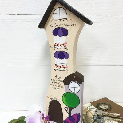 Деревянная ключница от DOVANA