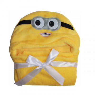 Детское полотенце с капюшоном Dream Towels «Миньон»