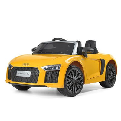Электромобиль Bambi «Audi R8 Yellow»