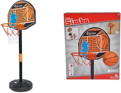 Игровой набор «Баскетбол»Simba с корзиной