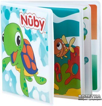 Книжка-игрушка с пищалкой для купания Nuby