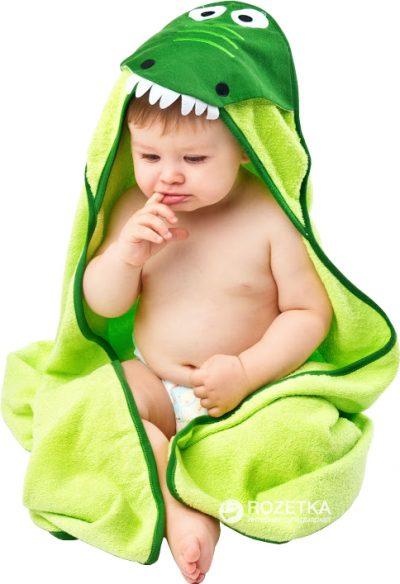 Махровое полотенце Sensillo «Water Friends» Green