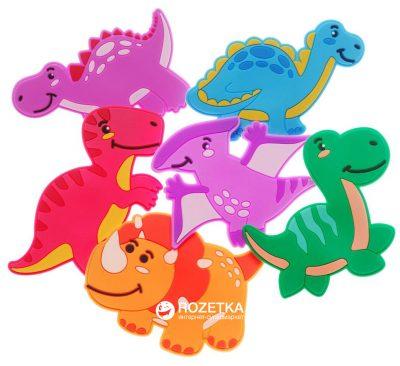 Набор игрушек для купания на присосках «Дино» Kinderenok