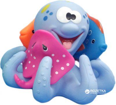 Набор игрушек для ванной Baby Team «Подводный мир»