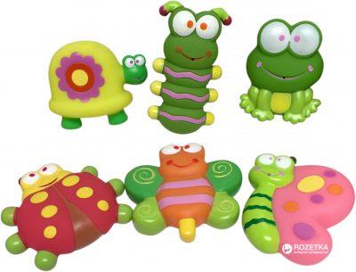 Набор игрушек для ванны Baby Team «Садовые друзья»