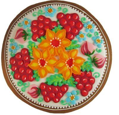 Пряничная картина «Цветы»
