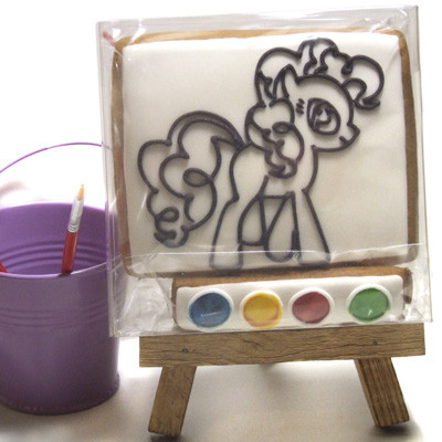 Пряничные раскраски «Пони»