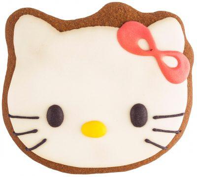Расписной пряник ручной работы - «Hello Kitty»