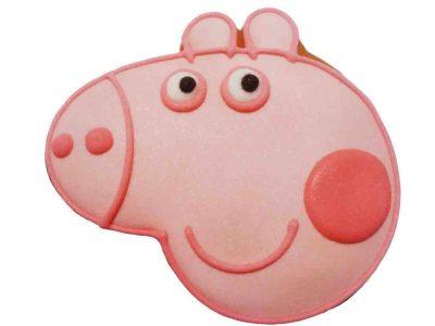 Расписной пряник ручной работы - «Свинка Пеппа»