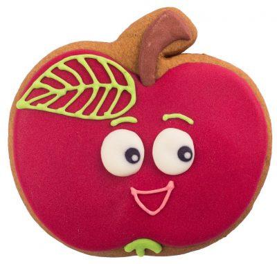 Расписной пряник ручной работы - «Яблоко»
