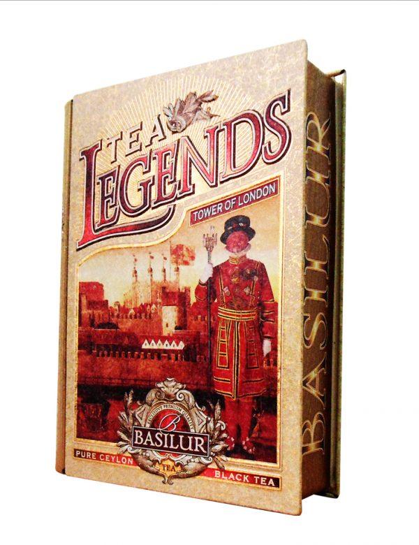Чай чёрный листовой Basilur «Чайные легенды. Башня Лондона»