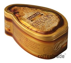 Чай чёрный листовой Basilur «Чайный Остров Цейлон Золотой»