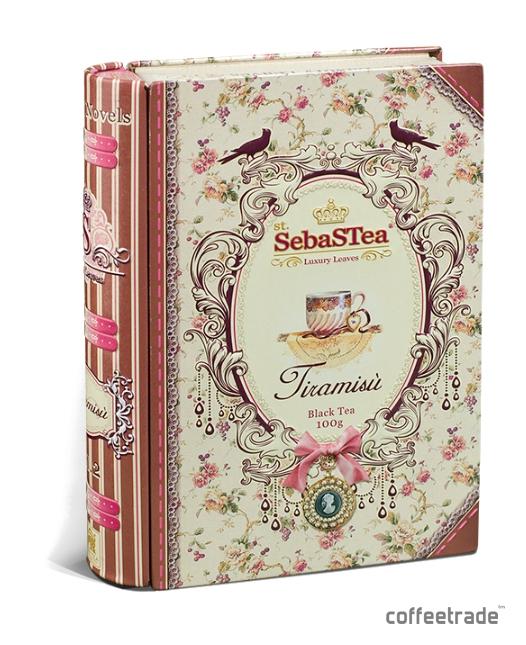 Чай черный листовой SebasTea «Дамские романы. Tiramisu»