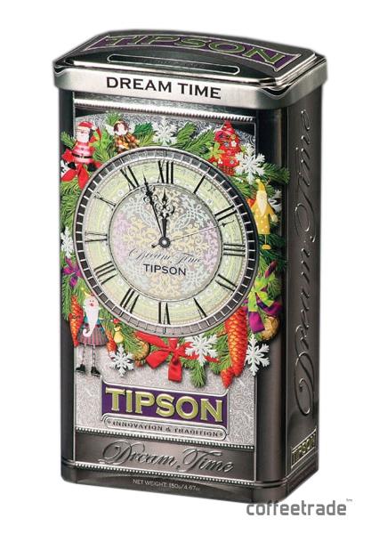 Чай зеленый листовой Tipson «Время мечты»