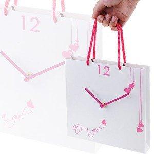 Часы «Бумажный пакет»