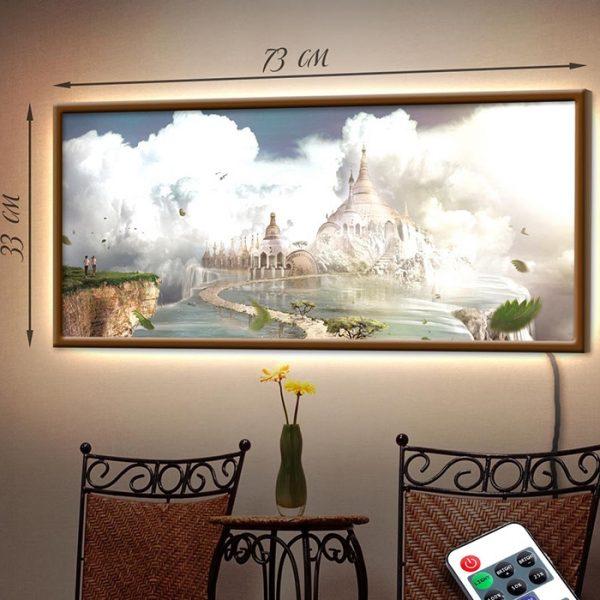 Картина с диодной подсветкой «Сказочный мир»
