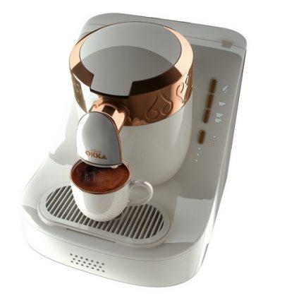 Кофеварка Turcoffee «Arzum OKKA» белая