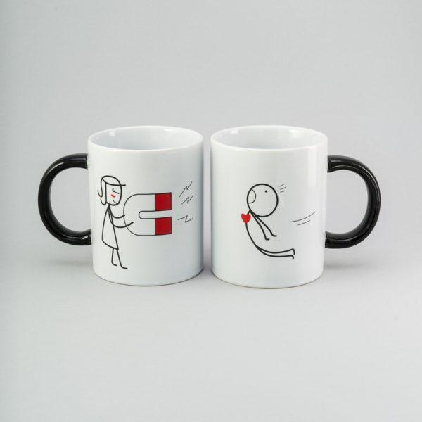 Набор керамических чашек «Магнит» Herisson