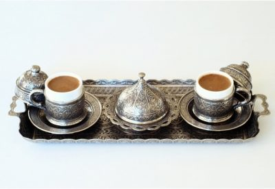 Набор Turcoffee металический серебро
