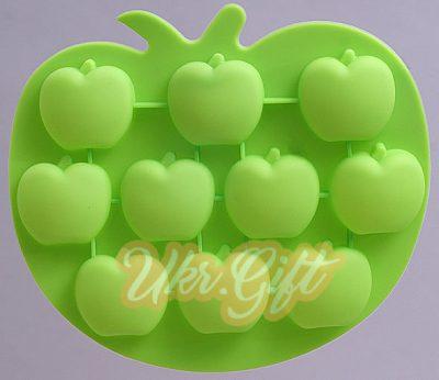 Силиконовая форма для льда «Яблоки»