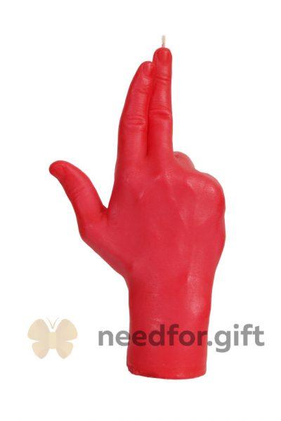 Свеча «Gun» красная