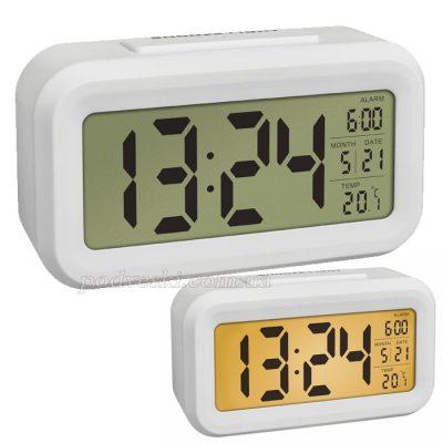 Настольные часы с термометром «LUMIO» TFA