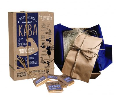 Подарочный кофейный набор для «Справжнього чоловіка»