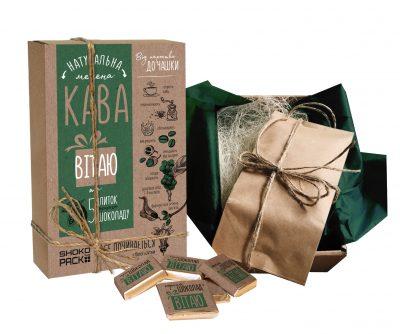 Подарочный кофейный набор «Вітаю»