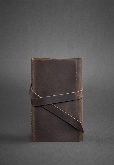 Кожаный блокнот (Софт-бук) «1.0 Орех» Blanknote
