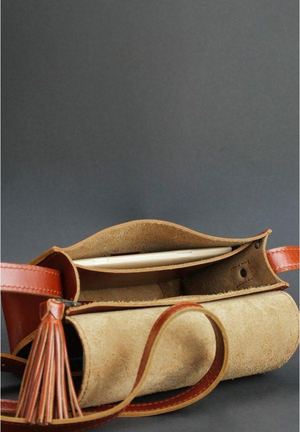 Бохо-сумка «Лилу» Blanknote (коньяк)