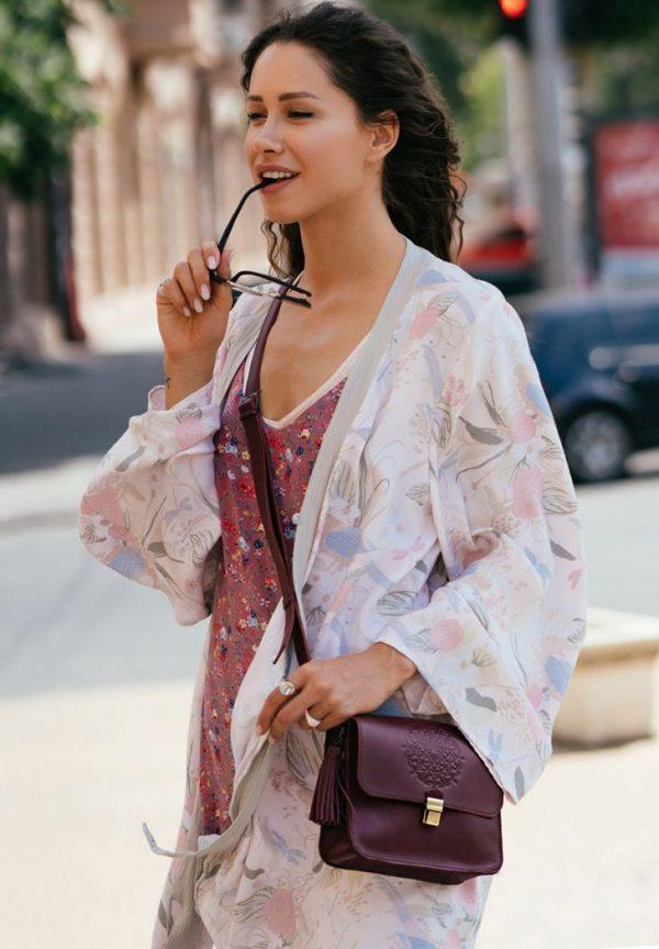 Бохо-сумка «Лилу» Blanknote (виноград)
