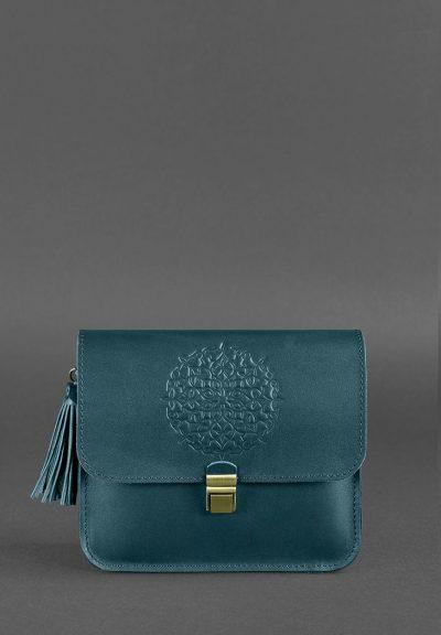 Бохо-сумка «Лилу. Малахит» Blanknote