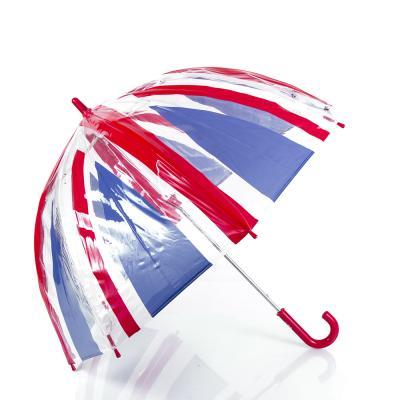 Зонт-трость детский облегченный механический FULTON (ФУЛТОН) FUL605-UniorJack