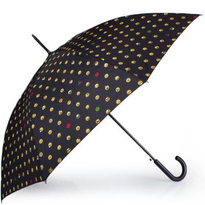 Зонт-трость женский полуавтомат HAPPY RAIN