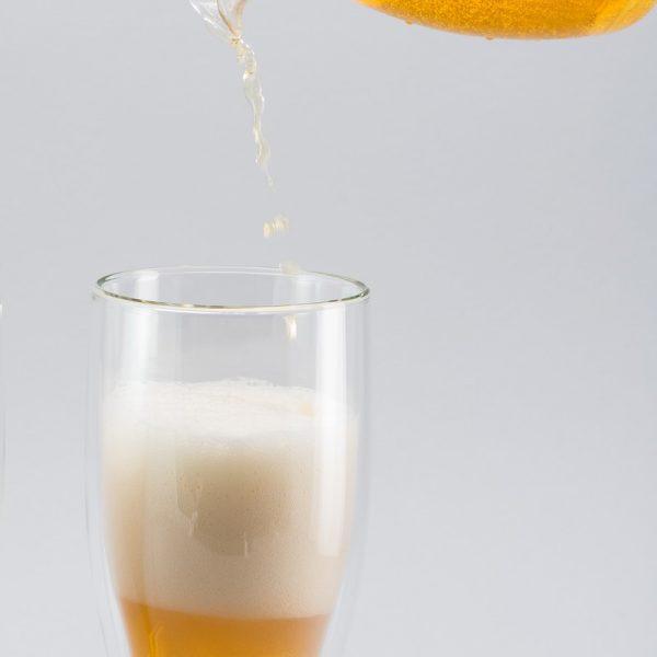 Комплект пивных бокалов с двойными стенками Herisson 0.5 л