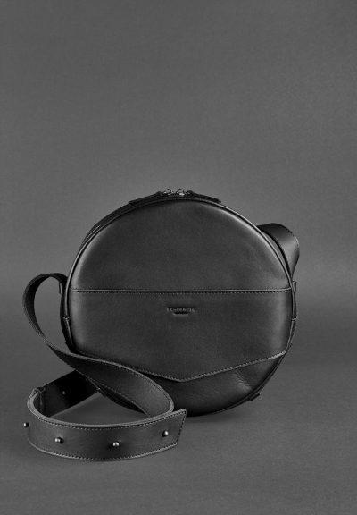 Круглая сумка-рюкзак maxi «Графит» BlankNote