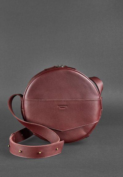 Круглая сумка-рюкзак maxi «Виноград» BlankNote
