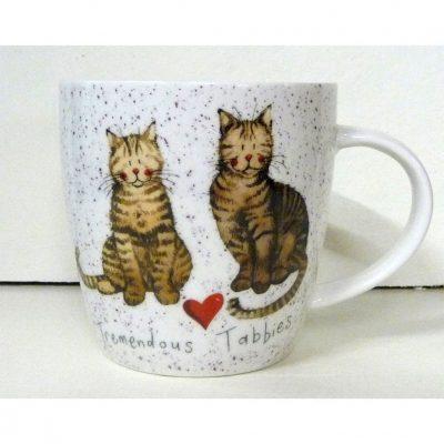 Кружка Churchill «Полосатые коты»