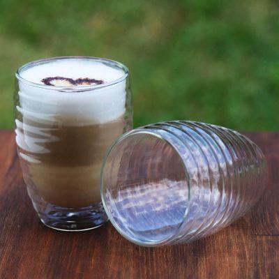 Комплект стаканов с двойными стенками Herisson 0.35 л