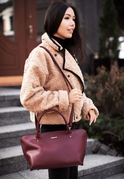 Женская сумка «Midi» BlankNote (виноград)