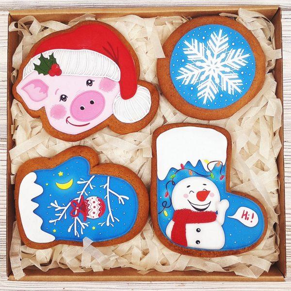 Набор пряников - «Снежные забавы»