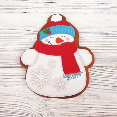 Пряник «Снеговичок»