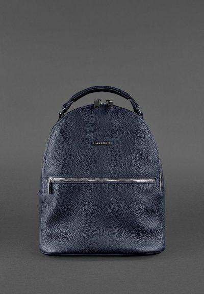 Кожаный мини-рюкзак «Kylie» BlankNote (синий)