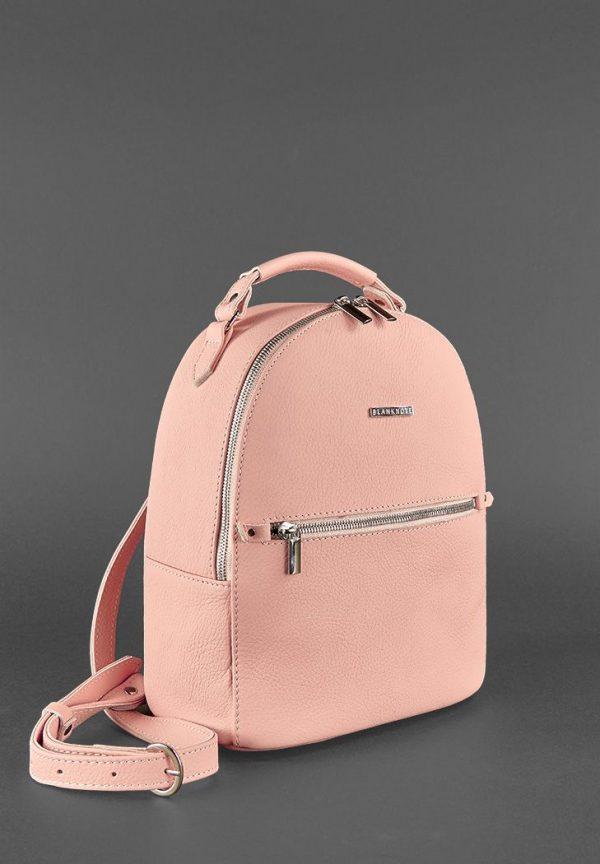 Кожаный мини-рюкзак «Kylie» BlankNote (барби)