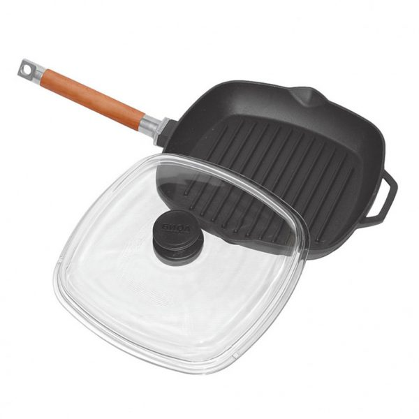 Сковорода-гриль ТМ «Биол»с крышкой