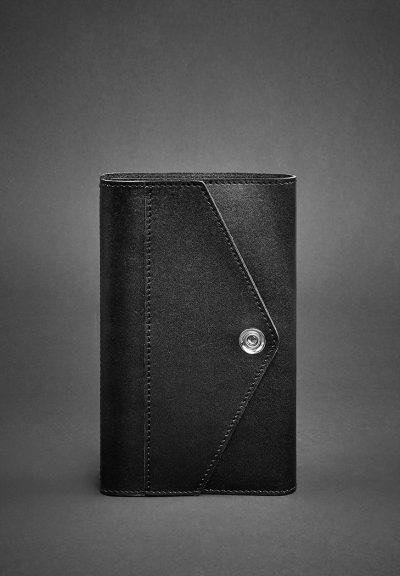 Кожаный блокнот (Софт-бук) «2.0 Графит» Blanknote