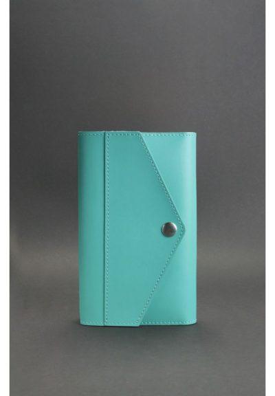 Кожаный блокнот (Софт-бук) «2.0 Тиффани»