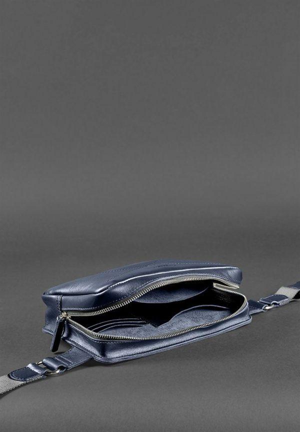 Сумка поясная «DROPBAG MAXI» Blanknote темно-синий